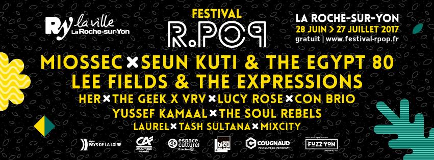 festival r.pop la roche sur yon 2017